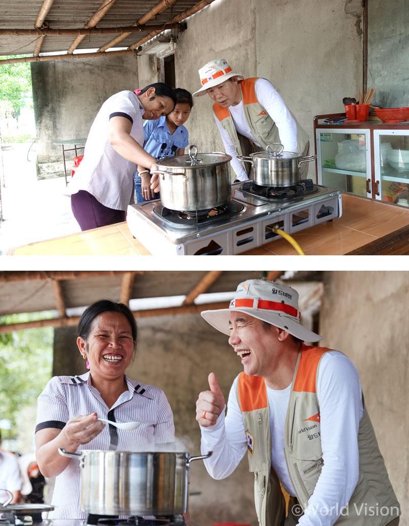 지구의 날 특별 손님, 박상원 씨를 위해 바이오가스로 폭폭- 끓여낸 쌀국수!