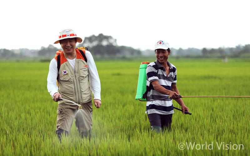 농부의 건강을 지켜주는 친환경농법