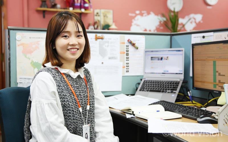 국제사업본부 지역개발팀 조예은 간사(세네갈, 캄보디아, 베트남 담당)