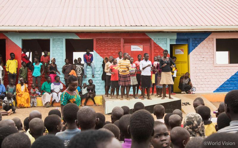 세계 최대 난민촌, 우간다 비디비디 난민촌 아이들을 위한 월드비전의 아동심리보호센터(CFS)