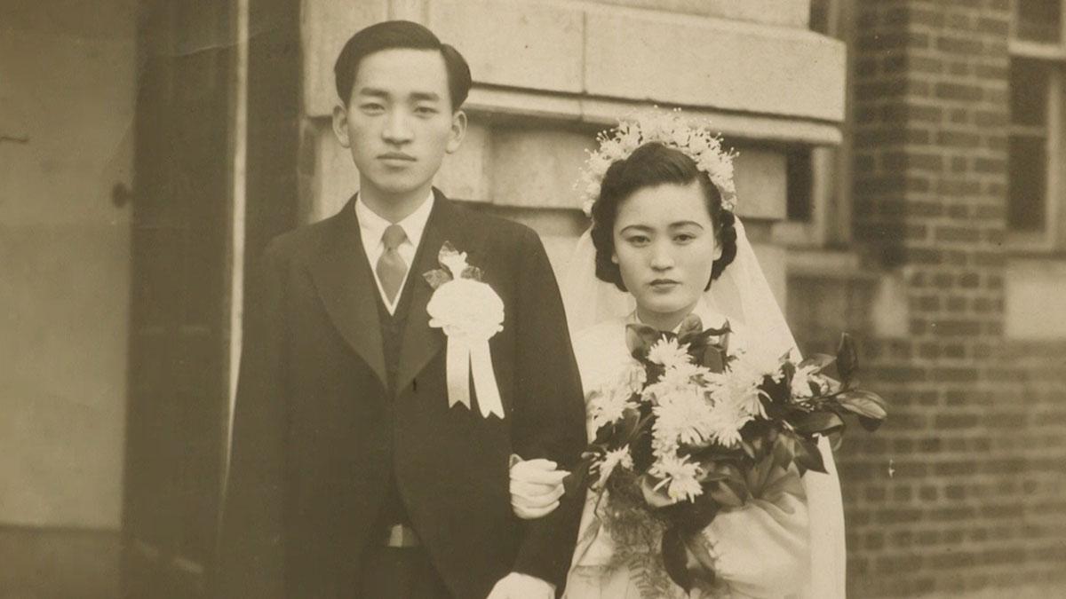 할머니의 결혼 사진