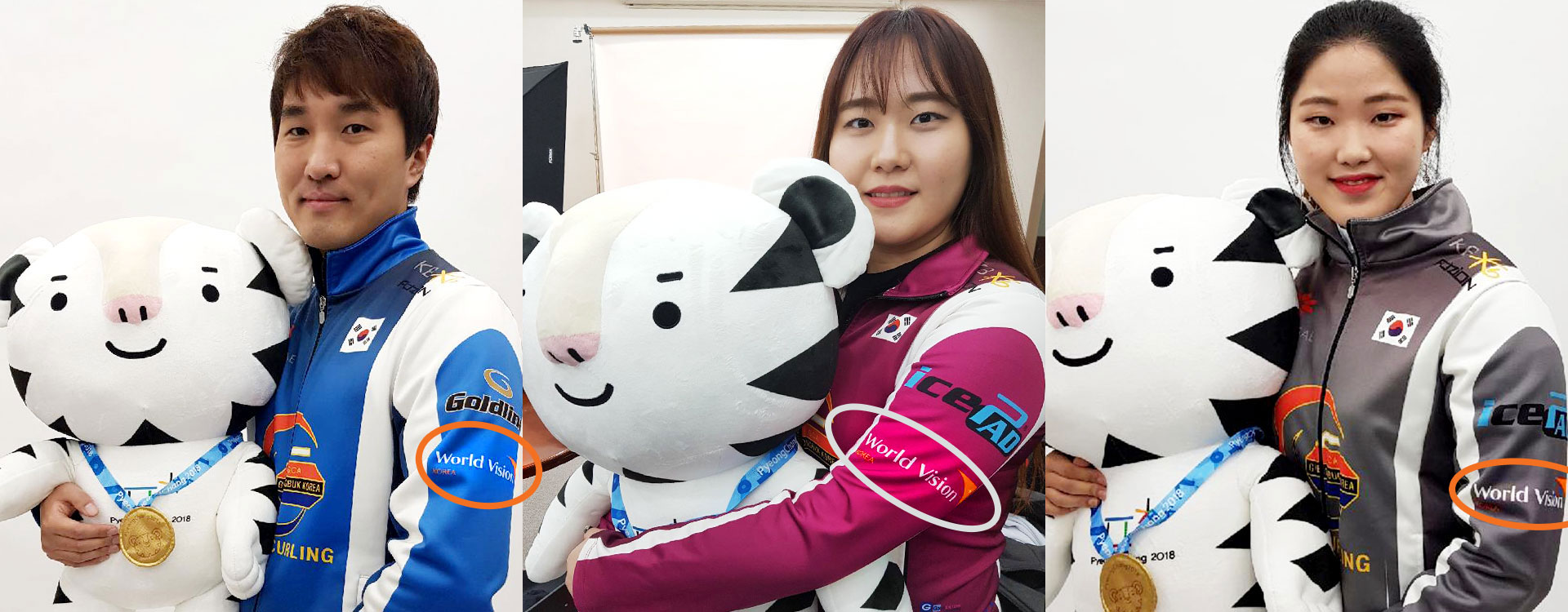 출처 : 경북컬링팀, 동계유니폼을 입은 경북컬링팀 선수들