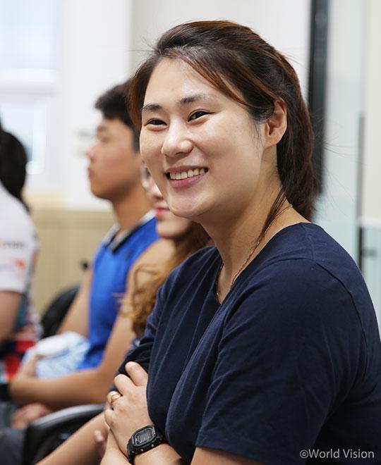 경북컬링팀 여자팀을 이끌고 있는 김민정 감독
