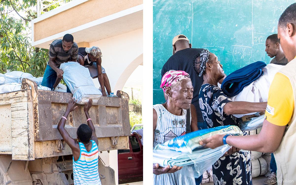 실내방역에 사용할 살충제 약품을 구매하여, 말라리아 감염이 가장 심하게 확산되고 있는 마을부터 지원했어요.