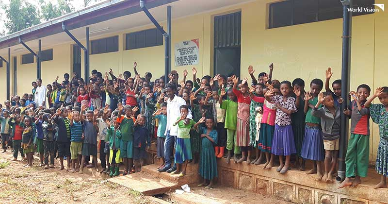 월드비전 도움 없이 스스로 아동을 돌볼 수 있는 '자립마을'이 된 에티오피아 자비테흐난 마을