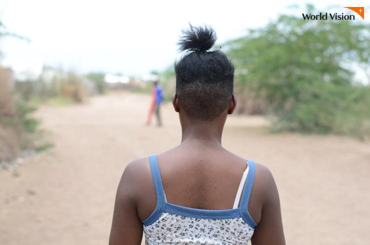 자신을 납치한 남자와 2년간의 결혼생활 끝에 탈출에 성공한 콩고 민주공화국 마리아