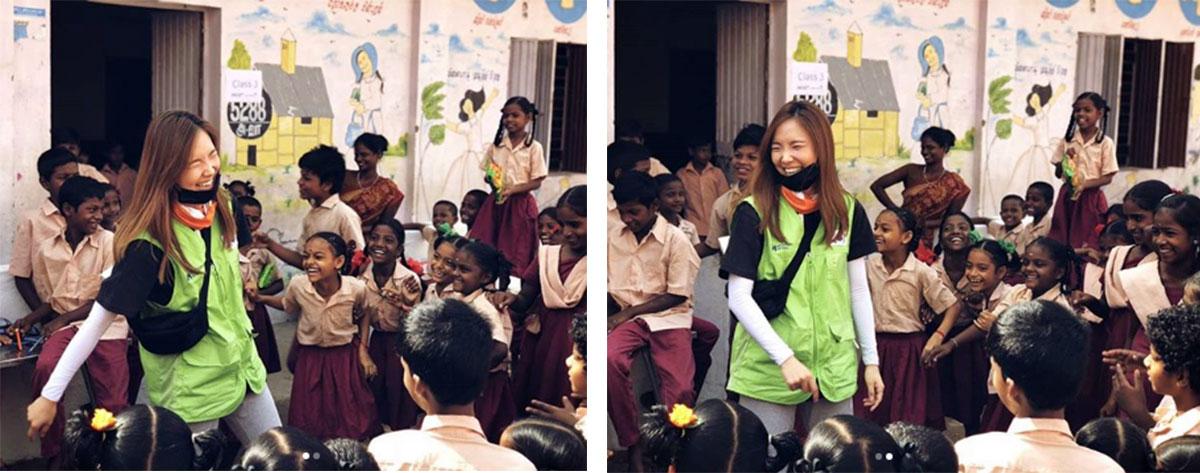 사진 출처: 신보라 홍보대사 인스타그램