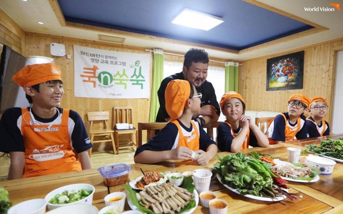 월드비전 영양 교육 프로그램