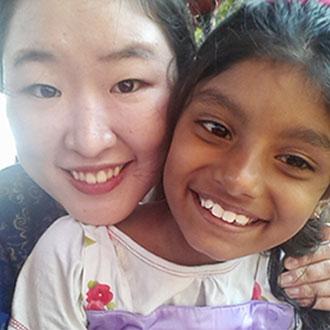 사랑하고 사랑 받으며 행복했던 인도에서