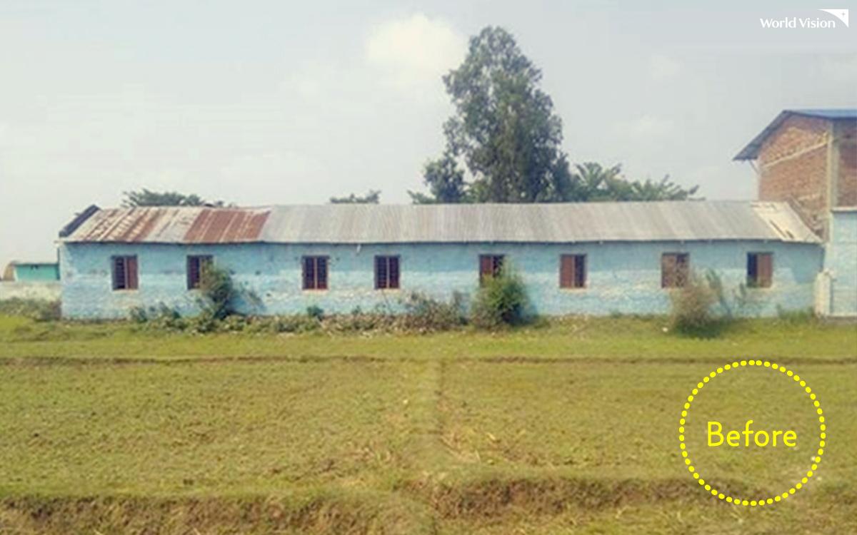 예전 라비 초등학교 모습