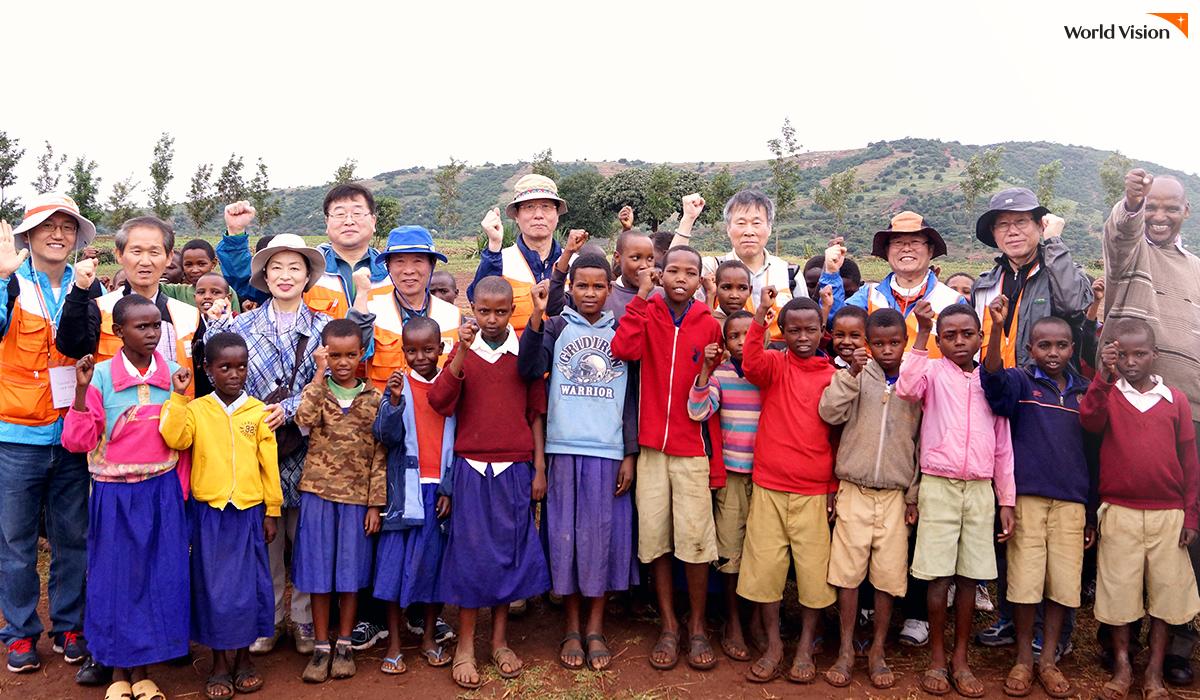 후원 아동들을 만나러 아프리카 탄자니아에 방문