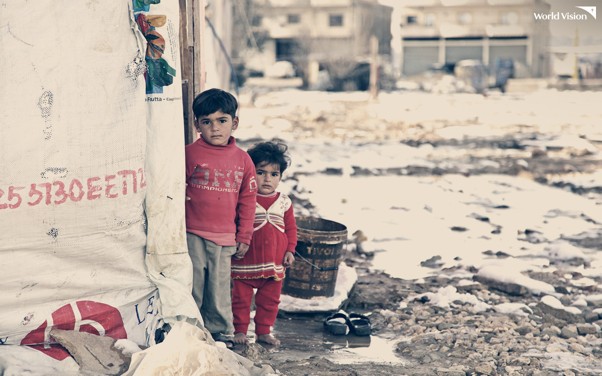 난민이 된 아이들
