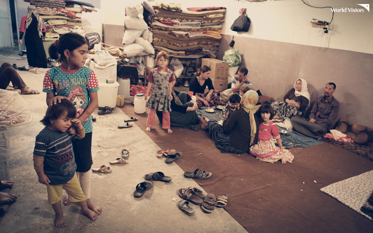 난민들의 삶
