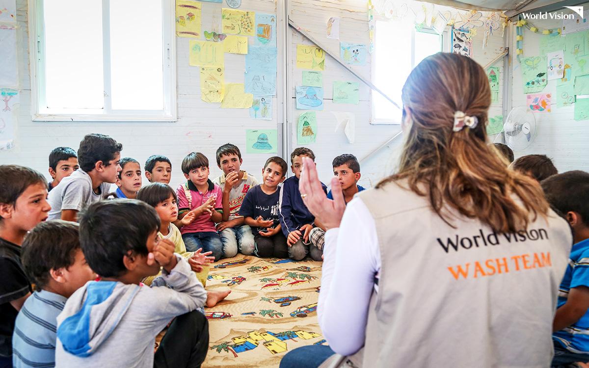 월드비전의 난민아동 교육 및 보호