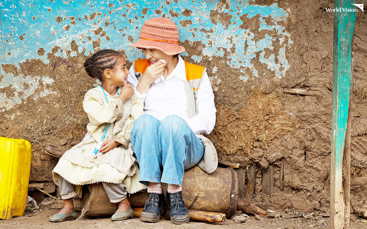 에티오피아, 2011년 <출처: 조선일보-월드비전 공동캠페인 '사랑만이 희망입니다'>