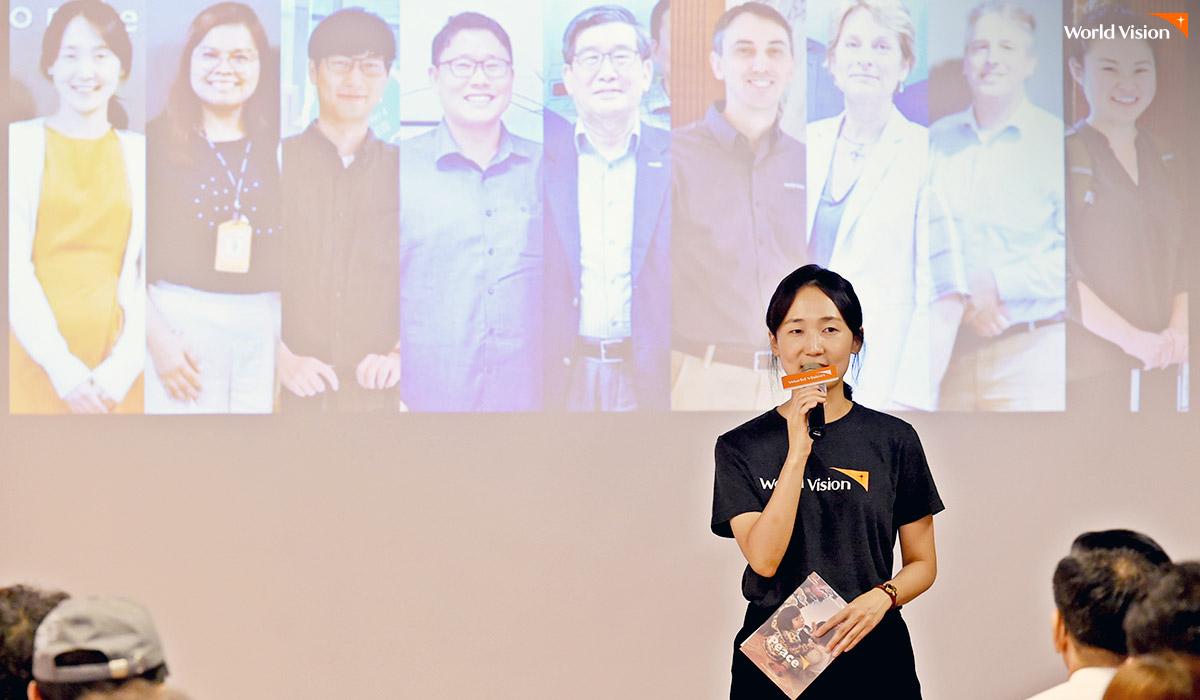 북한사업 팀원들의 사진