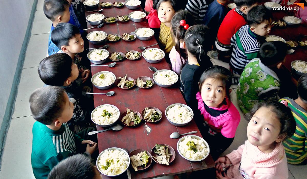 북한 어린이들
