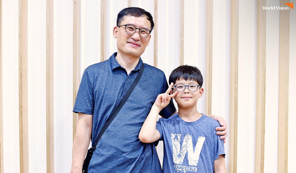 강건형 후원자님과 아들