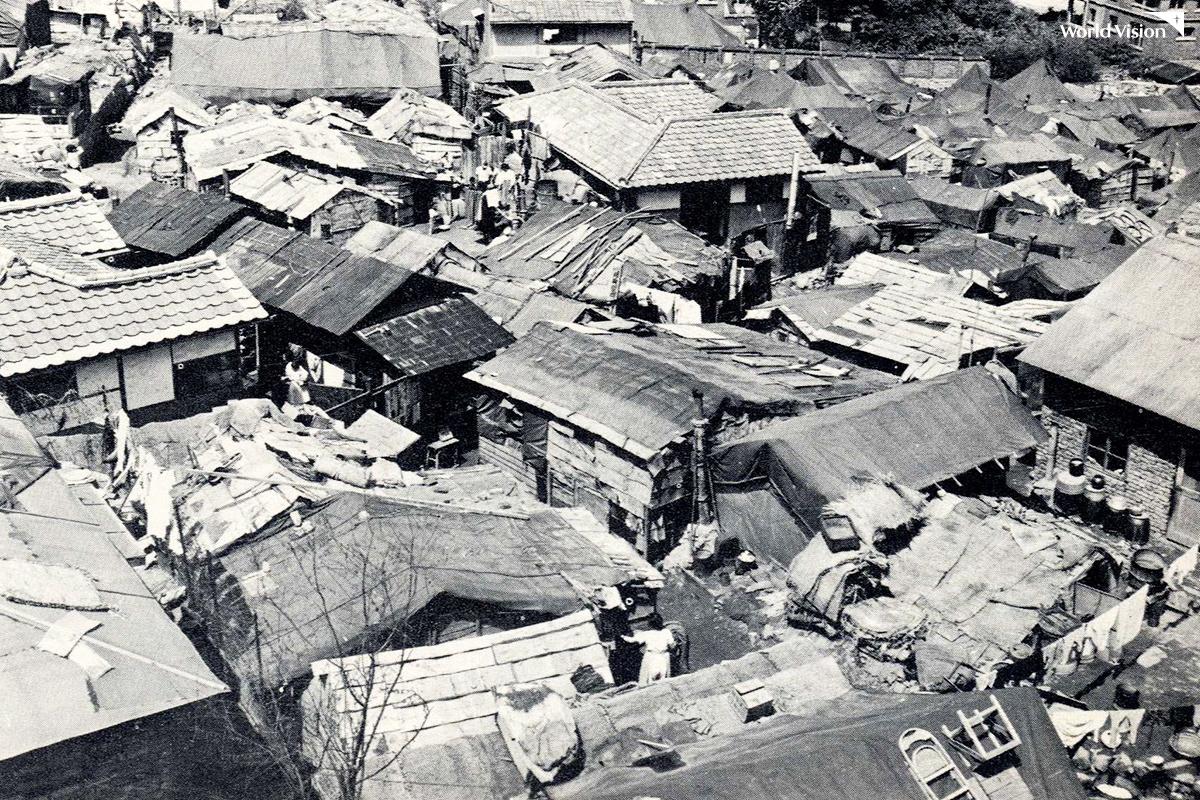 전쟁이 끝난 당시 서울의 모습