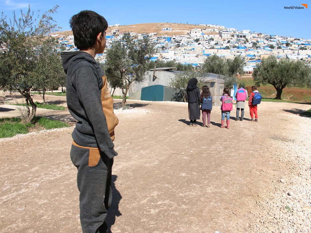 시리아 내전 발생 9주년입니다.