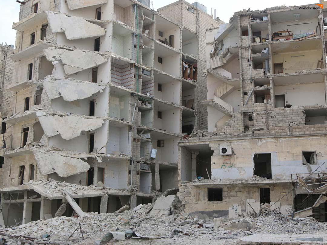 난민과 국내 실향민을 발생시킨 시리아 내전