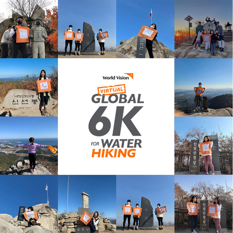 global 6k for water hiking