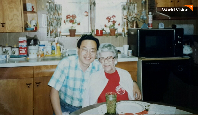 애드나 어머니와 조명환 월드비전 신임회장