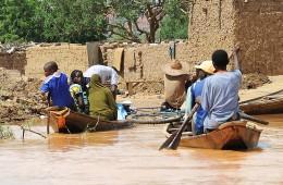 홍수로신음하는 아프리카  니제르
