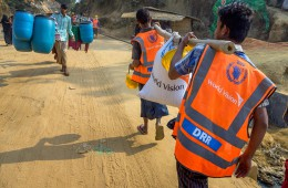 세계식량계획 월드비전 방글라데시 지원모습