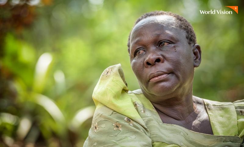 AIDS로 세 딸을 허망하게 잃은 어머니