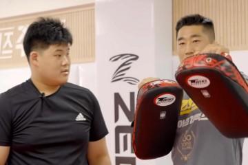 장백산 아동, UFC 대선배 김동현에게 도전장을 내밀다.
